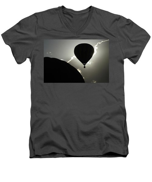 Eclipse Men's V-Neck T-Shirt