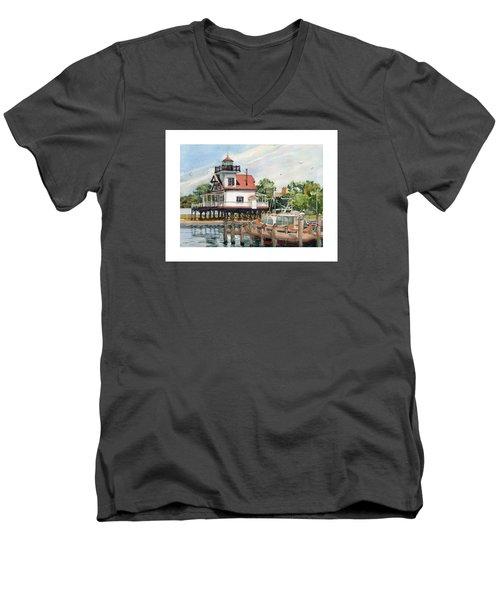 Edenton Sentinel Men's V-Neck T-Shirt