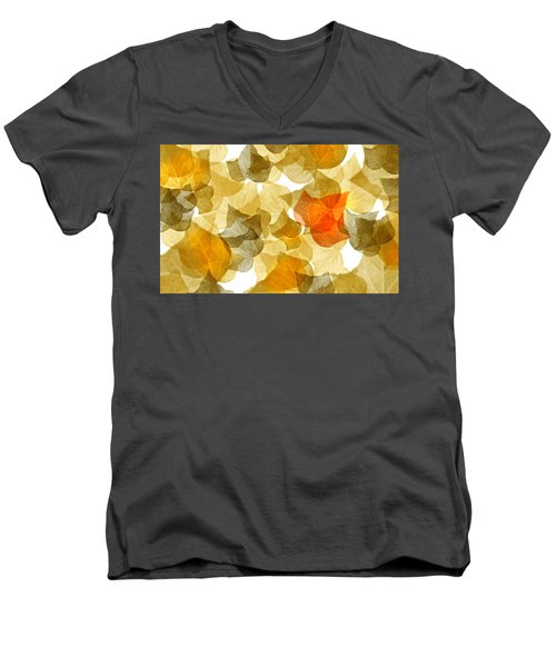 Edge Of Autumn Men's V-Neck T-Shirt