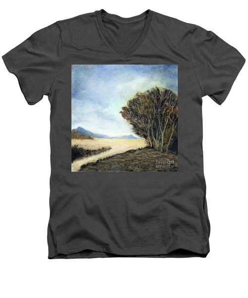 Edge Of The Mohave Men's V-Neck T-Shirt