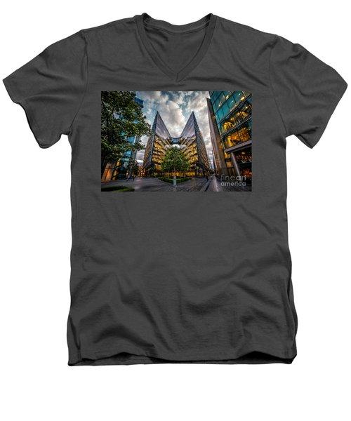 Edges Men's V-Neck T-Shirt