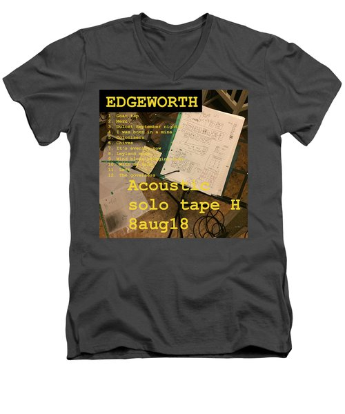 Edgeworth Acoustic Solo Tape H Men's V-Neck T-Shirt