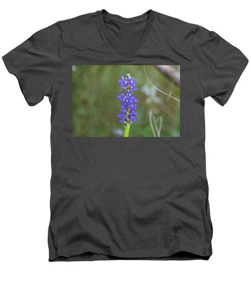 Edible Pickerel Weed Men's V-Neck T-Shirt