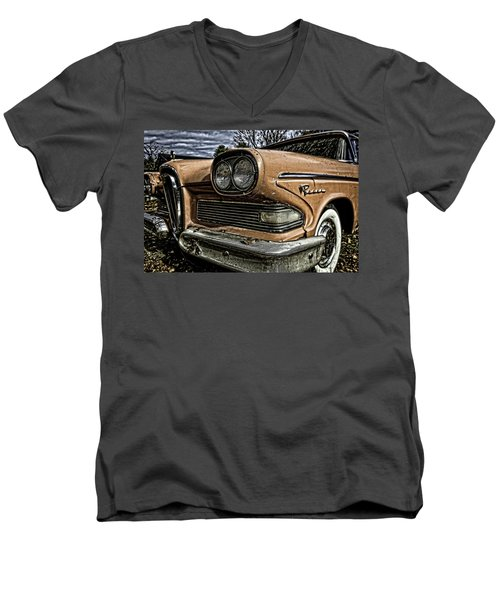 Edsel Ford's Namesake Men's V-Neck T-Shirt