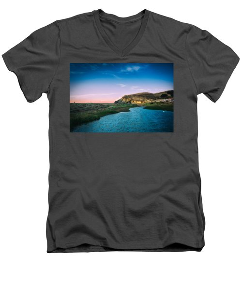 Effect Of Dreams Men's V-Neck T-Shirt