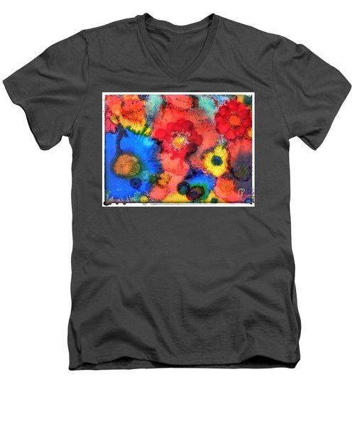 Efflorescence Men's V-Neck T-Shirt