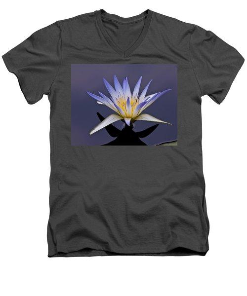 Egyptian Lotus Men's V-Neck T-Shirt