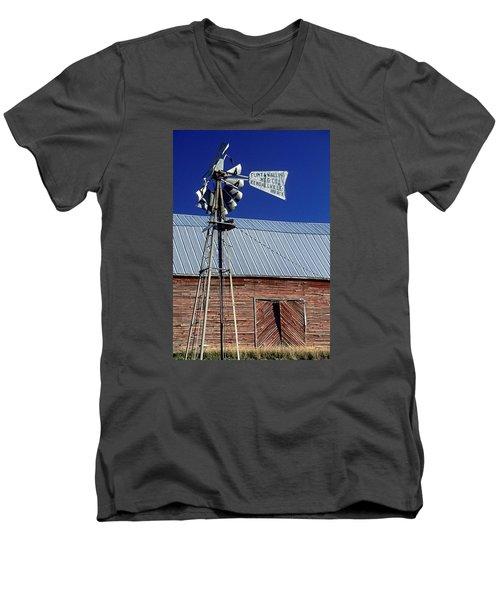 Eid Road Windmill Men's V-Neck T-Shirt