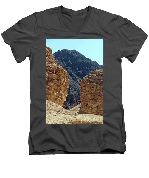 Eilat-israel Men's V-Neck T-Shirt