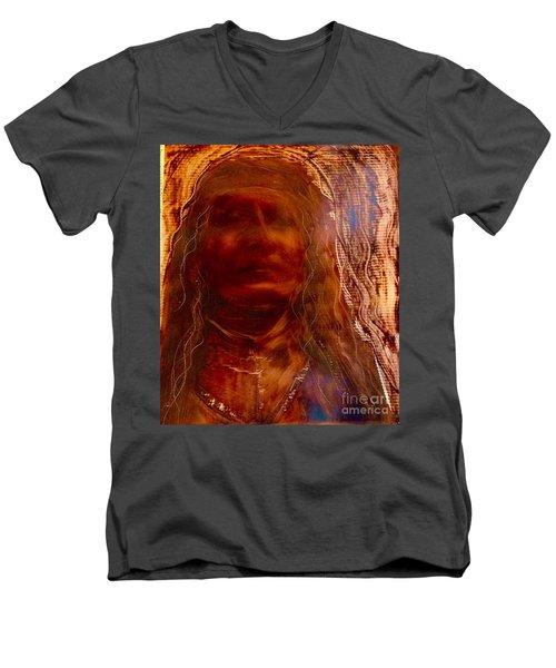 Wisdomkeepers Men's V-Neck T-Shirt