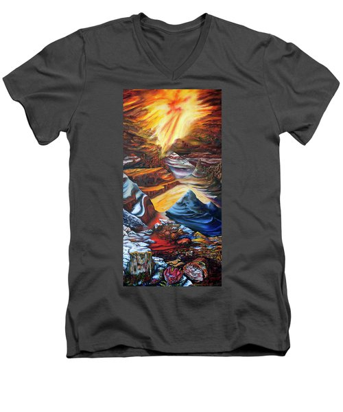 El Dorado Men's V-Neck T-Shirt