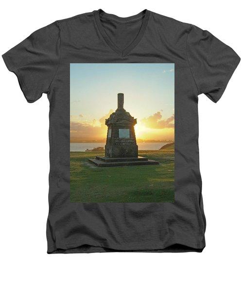 El Morro San Juan Puerto Rico Men's V-Neck T-Shirt
