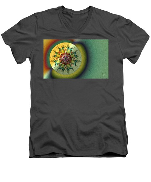 El Sello Men's V-Neck T-Shirt