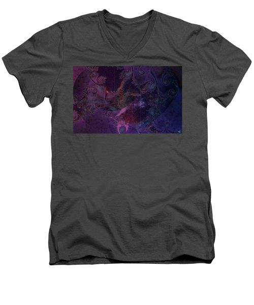 El Sendero Luminoso Men's V-Neck T-Shirt
