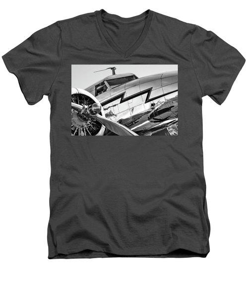 Electra Men's V-Neck T-Shirt