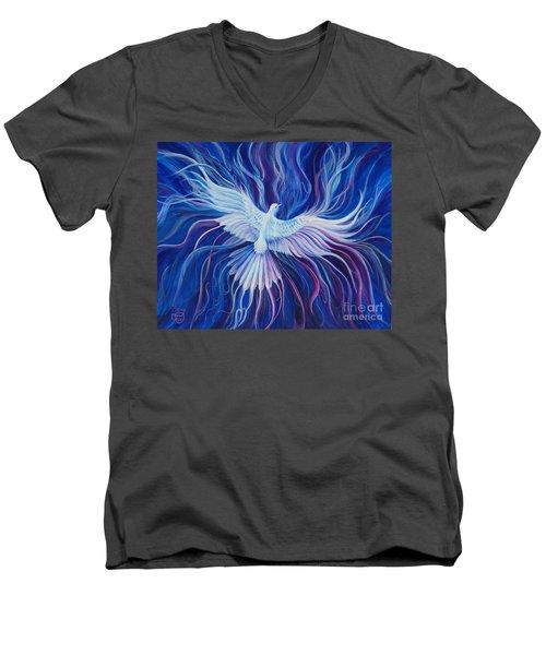 Eperchomai Men's V-Neck T-Shirt