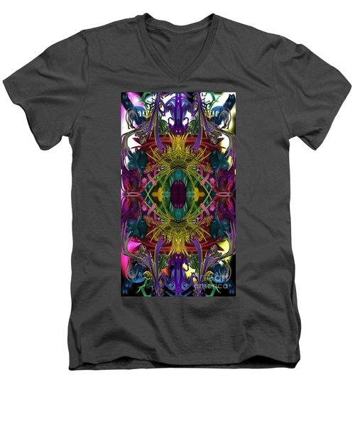 Electric Eye Men's V-Neck T-Shirt