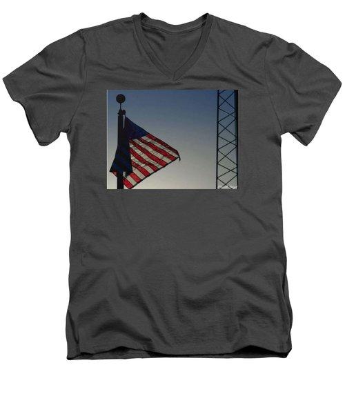 Electric Flag Men's V-Neck T-Shirt