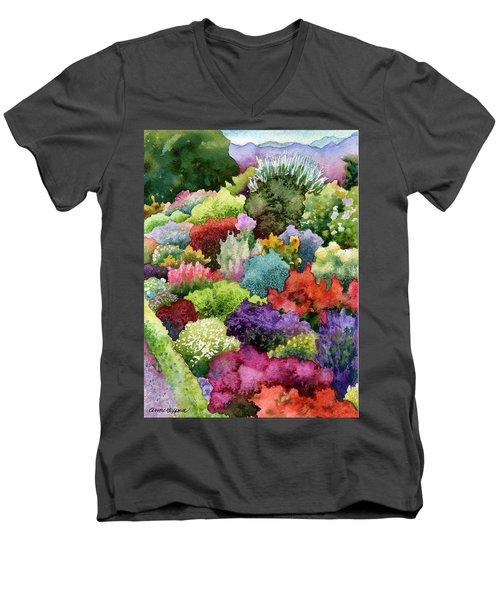 Electric Garden Men's V-Neck T-Shirt