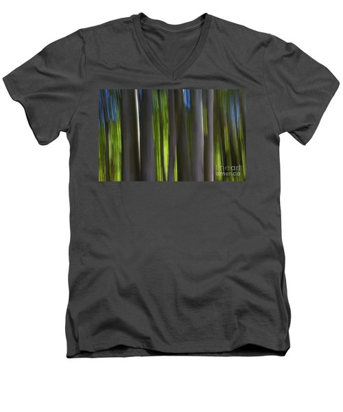 Electric Light  Men's V-Neck T-Shirt