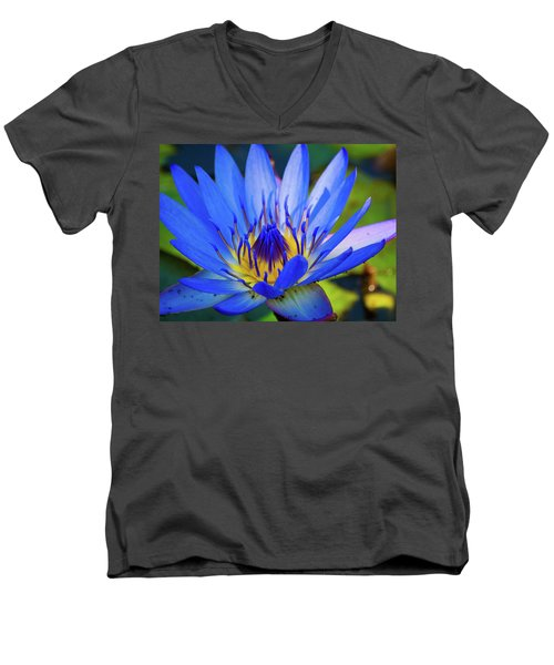 Electric Lily Men's V-Neck T-Shirt