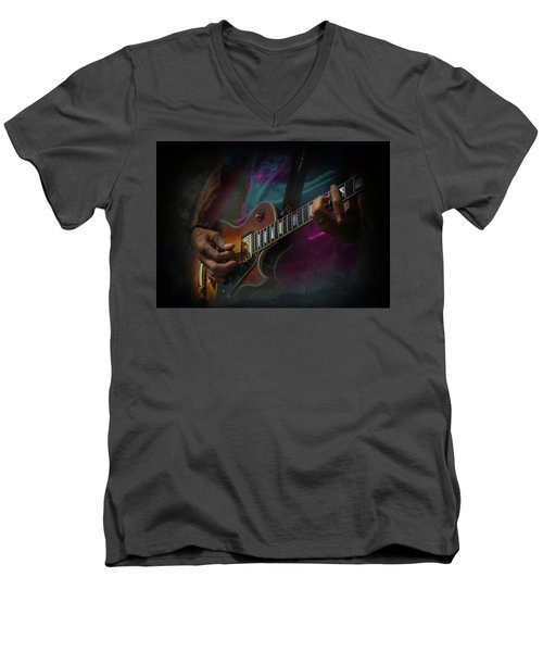 Live In Concert Men's V-Neck T-Shirt