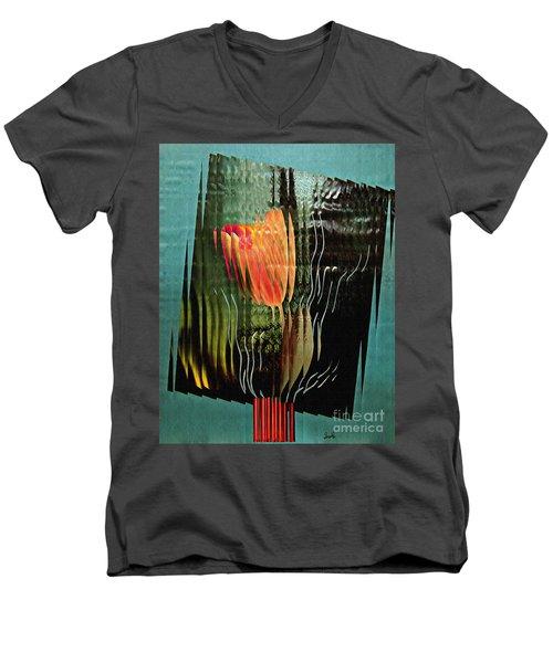 Electric Tulip 2 Men's V-Neck T-Shirt