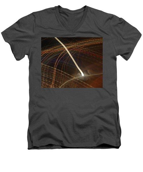 Electric Universe Men's V-Neck T-Shirt
