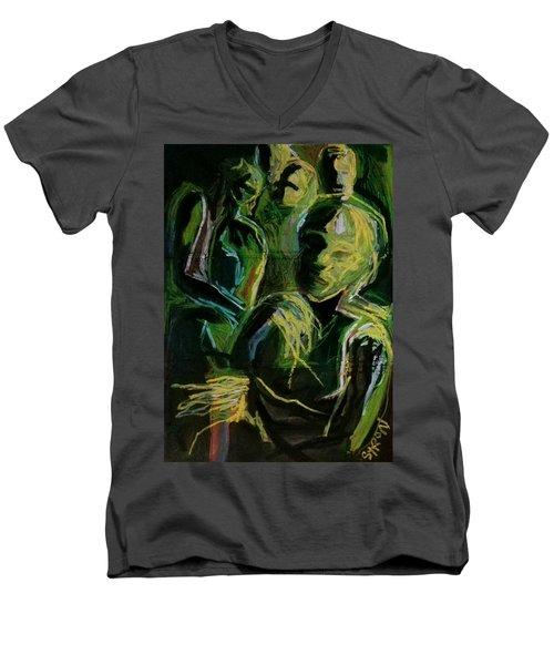 Electricity Men's V-Neck T-Shirt