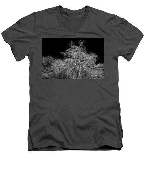 Men's V-Neck T-Shirt featuring the photograph Element Of Purity by Vicki Pelham