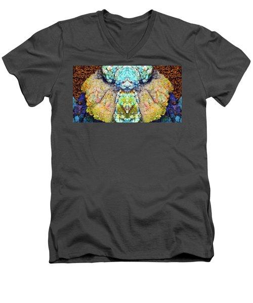 Elemental Being In Nature 1 Men's V-Neck T-Shirt