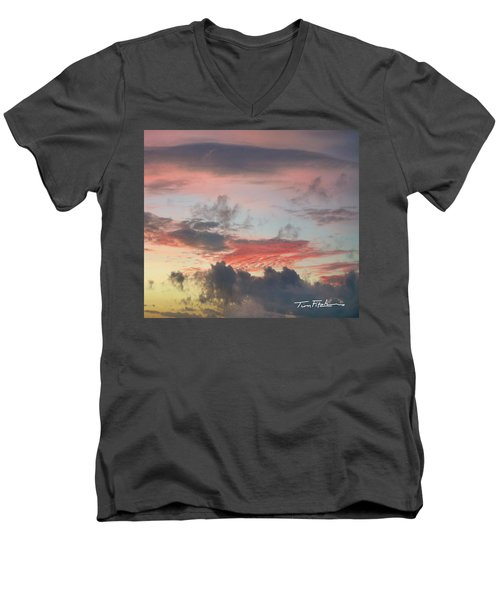 Elemental Designs Men's V-Neck T-Shirt