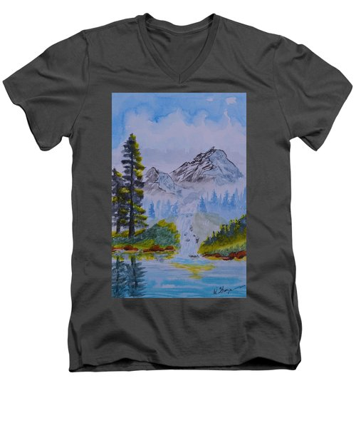 Elements Of Nature 2 Men's V-Neck T-Shirt
