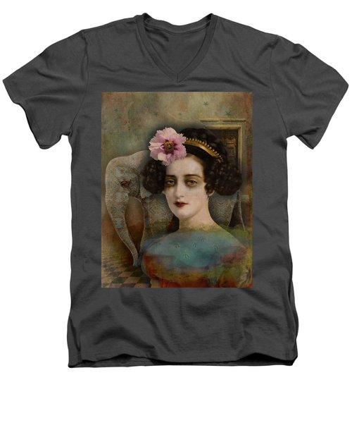 Elephant Dreamer Men's V-Neck T-Shirt