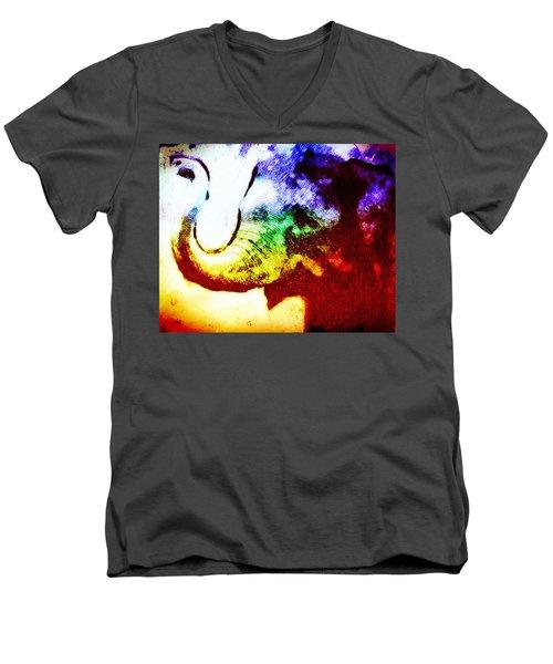 Elephant Energy Men's V-Neck T-Shirt