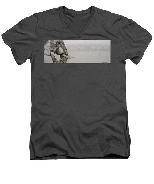 Elephant Tears Men's V-Neck T-Shirt