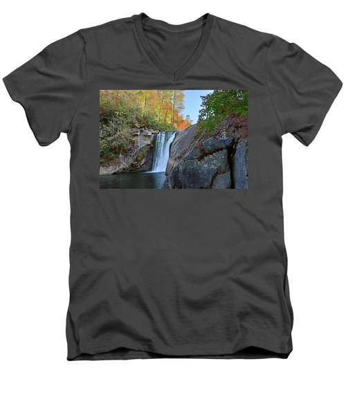 Elk River Falls Men's V-Neck T-Shirt