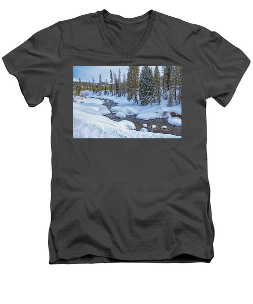 Elk River Men's V-Neck T-Shirt