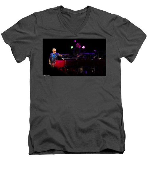 Elton - Enjoying The Show Men's V-Neck T-Shirt