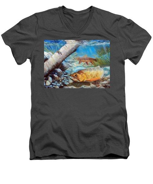Elusive Men's V-Neck T-Shirt