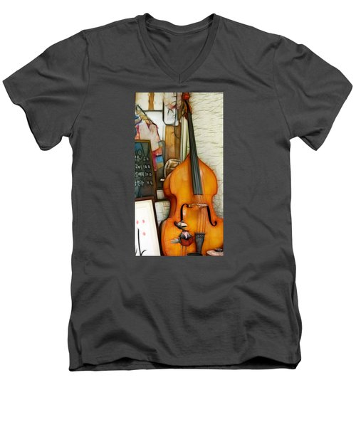 Men's V-Neck T-Shirt featuring the photograph Embraced by Cameron Wood