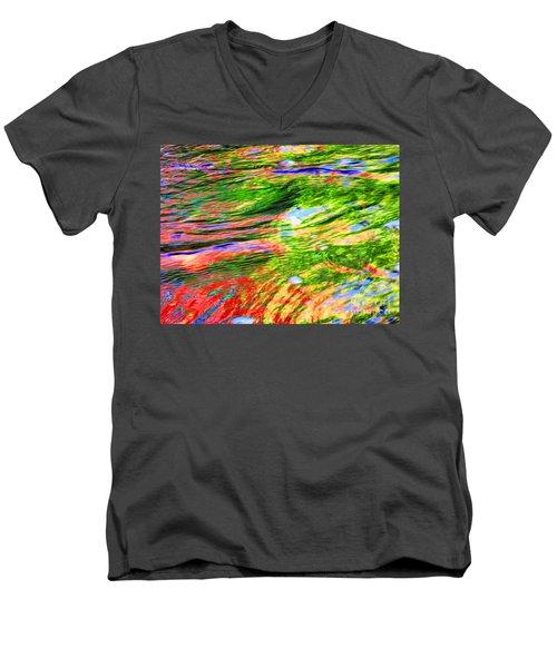 Embracing Change Men's V-Neck T-Shirt