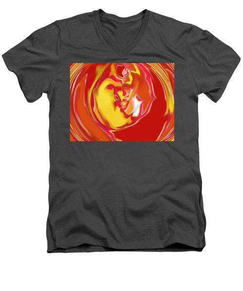 Embryonic Men's V-Neck T-Shirt