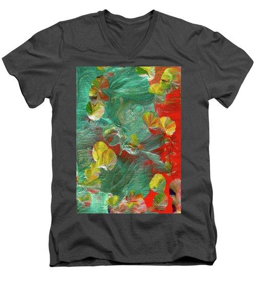 Emerald Island Men's V-Neck T-Shirt