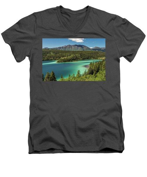 Emerald Lake Men's V-Neck T-Shirt