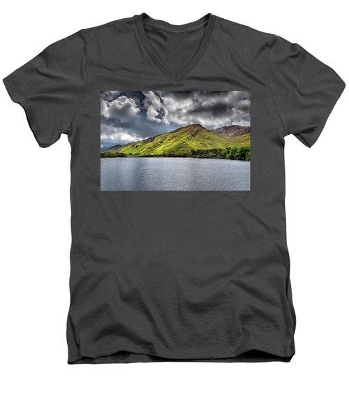 Emerald Peaks Men's V-Neck T-Shirt