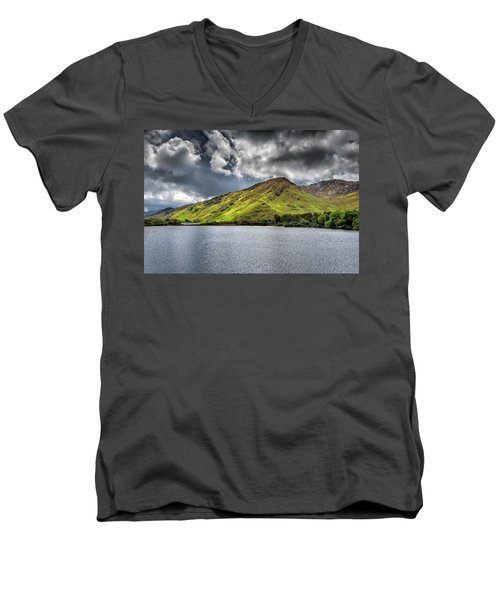 Emerald Peaks Men's V-Neck T-Shirt