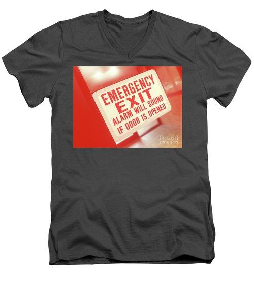 Emergency Men's V-Neck T-Shirt
