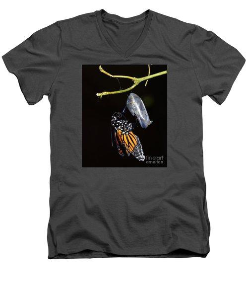 Emergent Men's V-Neck T-Shirt