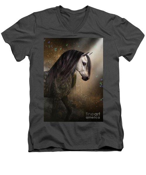 Emerging Men's V-Neck T-Shirt